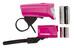 Trelock LS 350 I-go Sport + LS 710 Reego Beleuchtungsset pink
